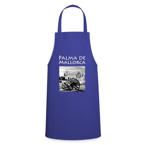 Palma de Mallorca mit Cathedrale Heiligen Maria - Kochschürze