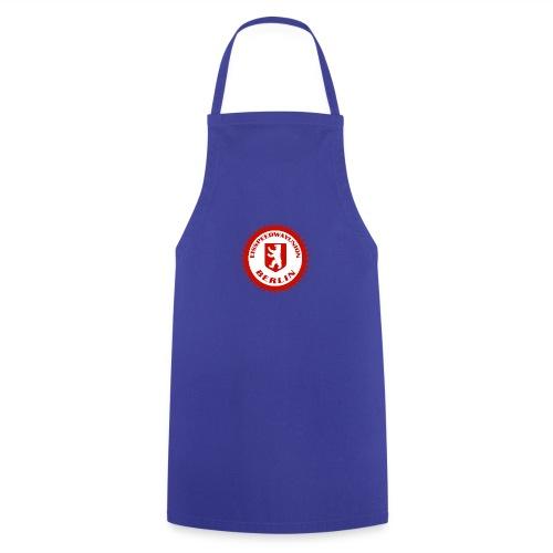 Logo in Rot Weiß - Kochschürze