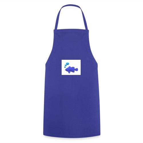 Silhouette Pesce - Grembiule da cucina
