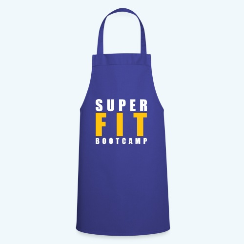 Superfit Logo on colour (non white) products - Cooking Apron