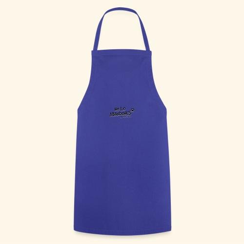 noloabandones negro - Delantal de cocina