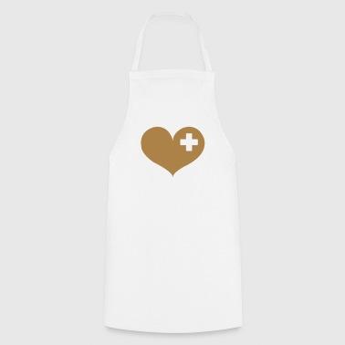 Arzt / Medizin / Kardiologie / Kardiologe - Kochschürze