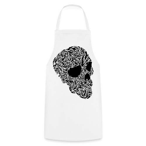 tribal Totenkopf - Kochschürze