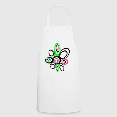 Flower 70s style - Cooking Apron