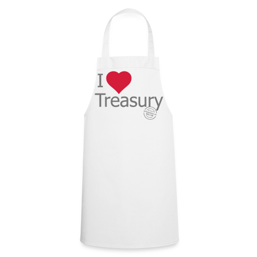 I LOVE TREASURY - Cooking Apron