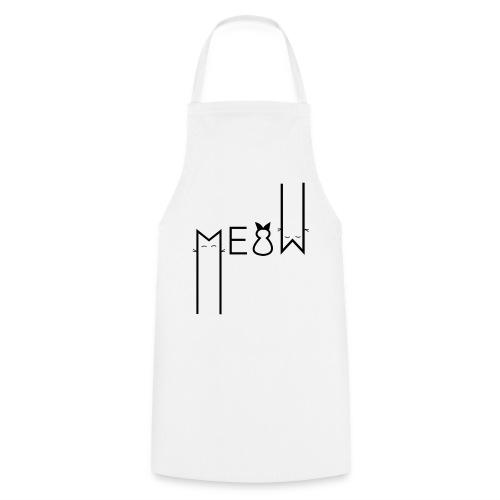 MEOW Miau Katze Süß Liebe - Kochschürze