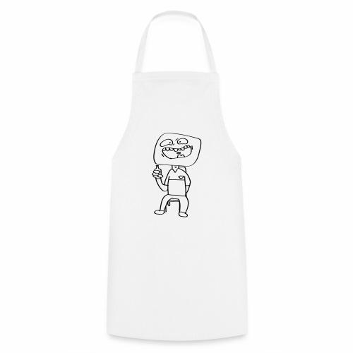 La pose - Tablier de cuisine