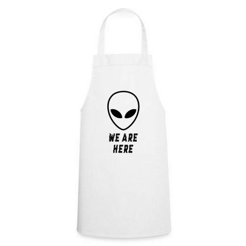 Alien Were Here - Cooking Apron
