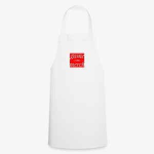 Game com merch text - Cooking Apron