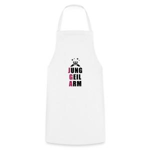 jung, geil arm - JGA T-Shirt - JGA Shirt - Party - Kochschürze