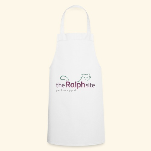 The Ralph Site, non-profit pet bereavement support - Cooking Apron
