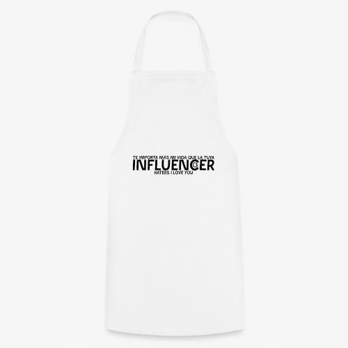 INFLUENCER (Black) - Delantal de cocina