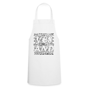 Yes And (Black) - Cooking Apron
