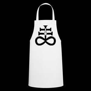 satanic cross - Cooking Apron