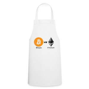 Bitcoin vs ethereum withe ok - Cooking Apron