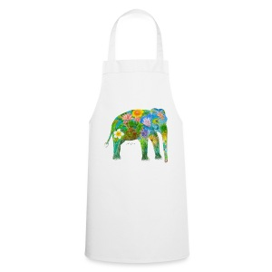 Asiatischer Elefant - Kochschürze
