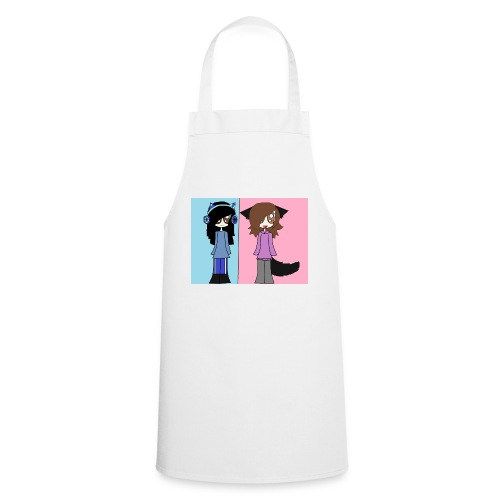 me and ash - Cooking Apron