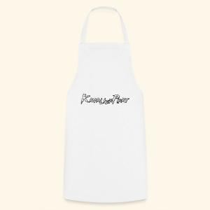 KavalierPirat Schriftzug - Kochschürze