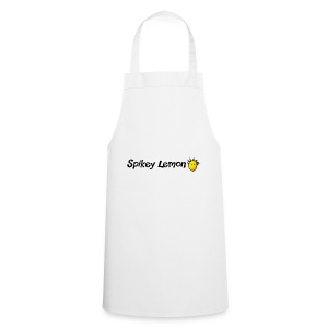 Spikey Lemon Clear black - Cooking Apron