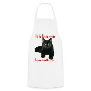 Ich bin ein Gourmetkater - Kochschürze