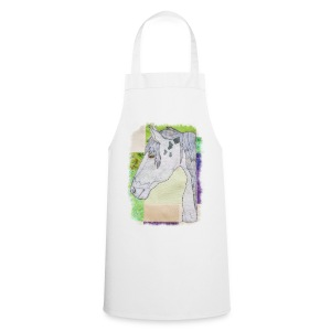 Dapple Grey Horse Design - Cooking Apron