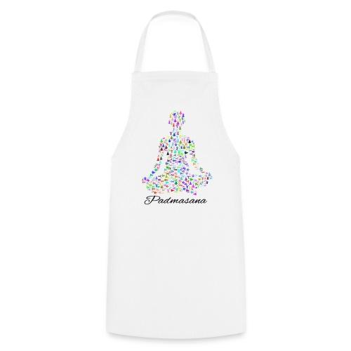 Yoga Padmasana T-Shirt - Kochschürze