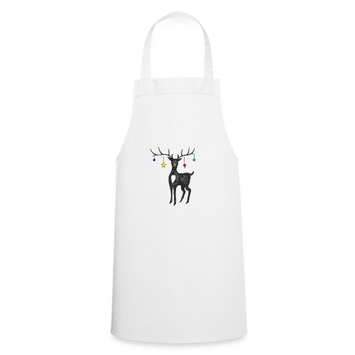 Christmas reindeer - Cooking Apron