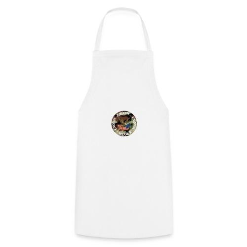 EXOTIC logo and circle - Cooking Apron