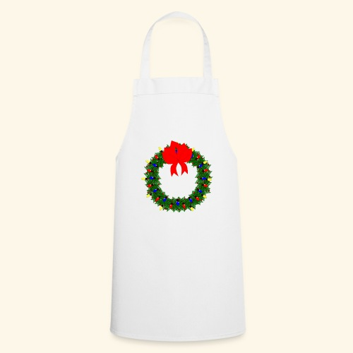 The christmas wreath - Cooking Apron