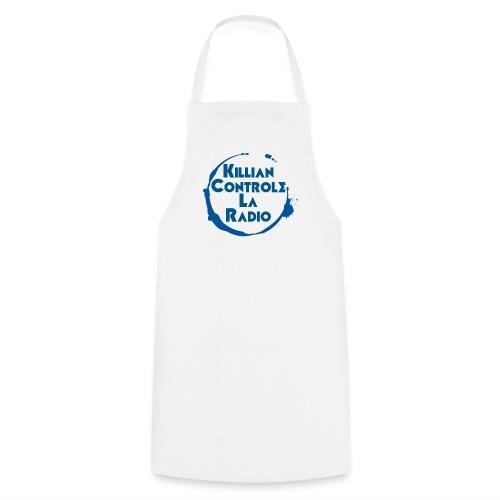 Killian controle la radio Avec le logo - Tablier de cuisine