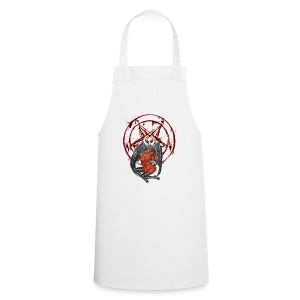 Blut Pentagramm mit Sexy Dämon - Kochschürze