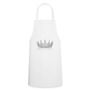 Queen crown design - Cooking Apron
