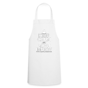 Keep Calm and Love Improv - Cooking Apron