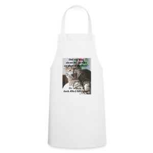 Duck - filled fatty - puss - Cooking Apron