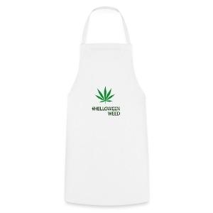 Helloween/weed Fun T-Shirt - Kochschürze