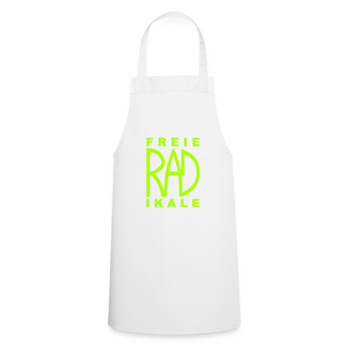 Freie RADikale Logo Gruen - Kochschürze