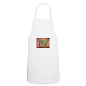 cannabis weed heart - Cooking Apron