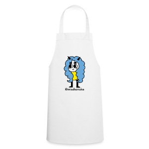 hana-chan ✻ blue yellow black - Cooking Apron