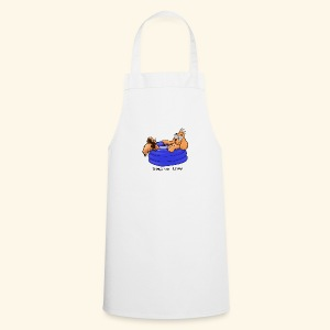 Bernie in the pool - Cooking Apron