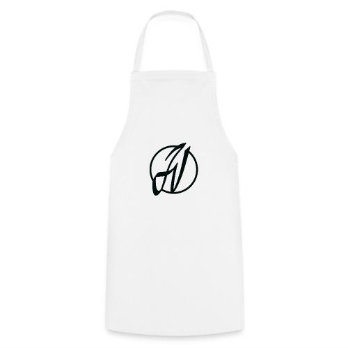 JV Guitars - logo noir - Tablier de cuisine