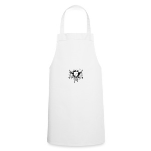 14255266 Vector illustration skull bull and crosse - Cooking Apron