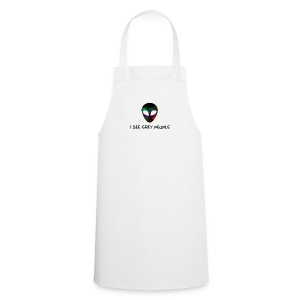 I SEE GREY PEOPLE - Cooking Apron