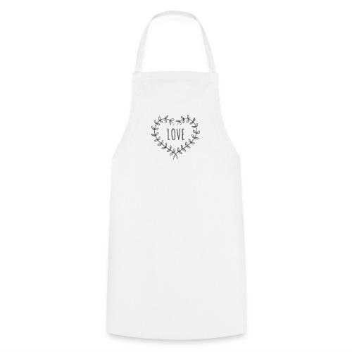 Heart Love - Fartuch kuchenny