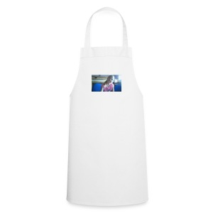 purple happy merch - Cooking Apron