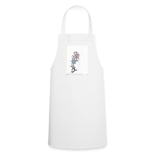 flower design - Cooking Apron