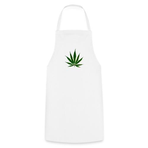 cannabis leaf - Tablier de cuisine