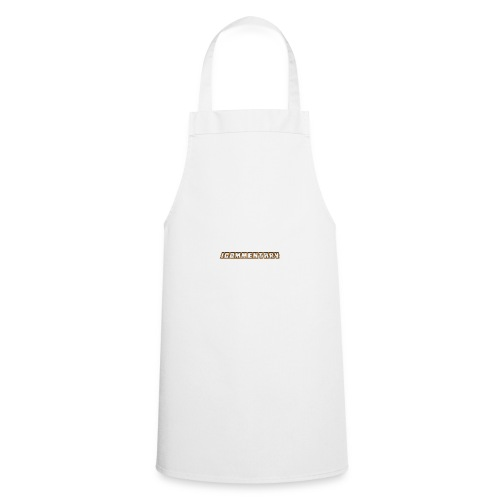 iCommentary - Cooking Apron