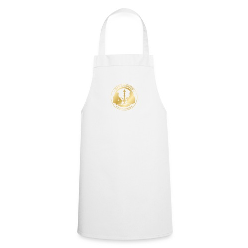 Relaxshop Logo gold weiss! - Kochschürze