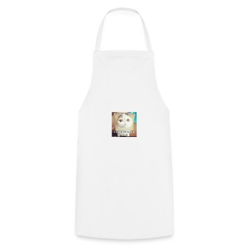 grappige kat - Keukenschort