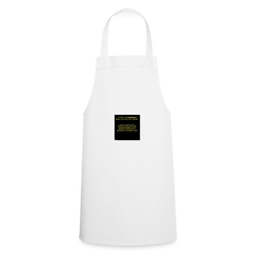 #HASHTAG TO CHANGE OPINIONS - Cooking Apron